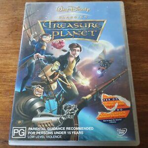 Treasure Planet DVD R4 VERY GOOD - FREE POST