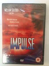 impulse dvd william shatner cert 15 new and sealed brand new.