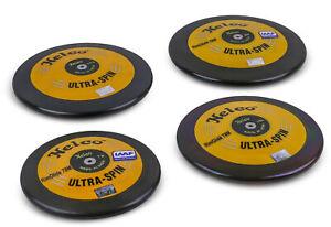 Nelco Diskus Wettkampf Ultra Spin Gold - Wurfdiskus - 1,00 kg bis 2,00 kg - IAAF