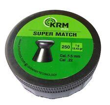 250 pallini magnum super match cal 5.5mm carabina colpi precisione piombini