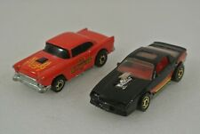Hot Wheels Blown Camaro Z-28 '55 Chevy Loose Lot of 2 Diecast Cars