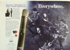 retro magazine advert 1992 AKG C1000