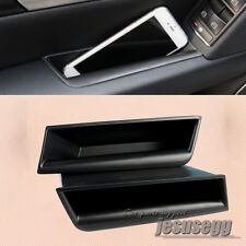 2Pcs Door Armrest Box Storage Container Phone Holder For Benz C-Class W204 08-13