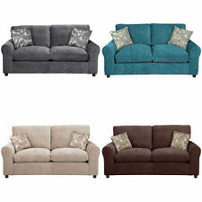 Argos Fabric Solid Pattern Sofa Beds