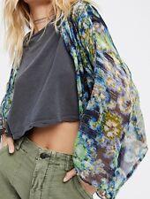 Free People Fleur De Lis Kimono Small