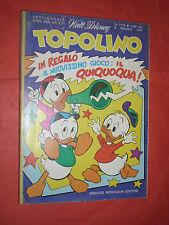 WALT DISNEY- TOPOLINO libretto- n° 1119 a - originale mondadori- anni 60/70
