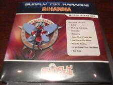SUNFLY WORLD STARS KARAOKE DISC SFWS045 RIHANNA CD+G SEALED 14 TRACKS