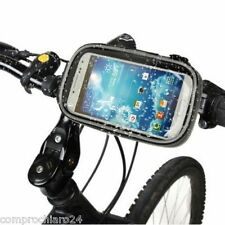 Supporto Custodia Bici Moto Impermeabile Samsung Galaxy  S3  / S4 i 9300 / i9500