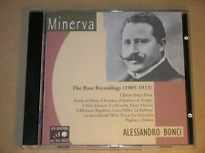 CD RARE / ALESSANDRO BONCI / THE RARE RECORDINGS 1905-1913 / EXCELLENT ETAT