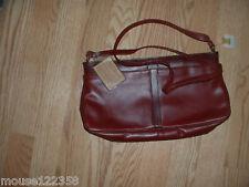 NOS  John Romain Vintage Leather Handbag or purse  tags