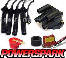 Triumph Dolomite 1998cc 44D4 Electronic kit, rotor, cap & Replacement HT leads