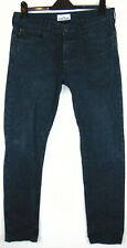 Authenticated Stone Island RE-T XX15 Slim Fit W34 L32 Mens Navy Canvas Jeans