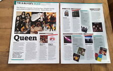 QUEEN 'albums buyers guide' 2 page UK ARTICLE / clipping