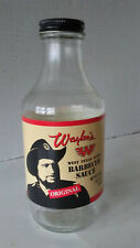 Waylon Jennings Barbecue Sauce Bottle