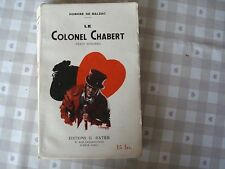 Le colonel Chabert Balzac texte intégral Ratier