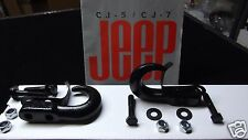 Jeep CJ Laredo, Jeep CJ tow hooks, Jeep YJ tow hooks, tow hooks