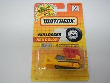 Matchbox Bulldozer Yellow / Red MB64 (2)