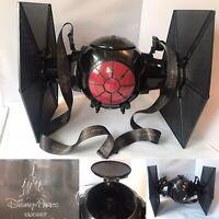 Star Wars The Force Awakens Tie Fighter Popcorn Bucket Disney Parks Rare Promo