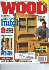 Better Homes And Gardens - Wood Magazine March 2003 Issue No. 147