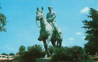 Postcard Will Rogers Monument Claremore Oklahoma