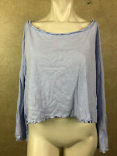 Free People Womens Sleeve Neck Top________ R12F2