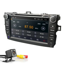 Android 8.1 Car DVD Player GPS DAB+Radio Stereo Wifi 4G DVR fit Toyota Corolla