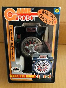 Transformers Game Robot Roulette Robot Gig Takara Dead Stock New