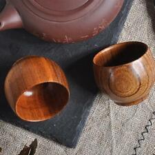 Wooden Cup Coffee Tea Beer Juice Milk Water Mug Primitive Handmade Natural