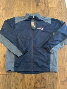 NWT New England Patriots Antigua Revolve Jacket Men's XL