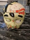 NEW Zombie Head Cookie Jar Brains & Biscuits FREE SHIPPING