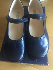 Hampton From Trotters Katherine navy Girls Classic Shoe Size 37 BNWT
