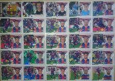 Full Set 25 Stickers Cromos FC Barcelona Ediciones Liga Este 2015 2016 Messi
