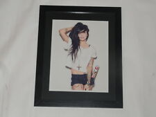 LIGHTS VALERIE POXLEITNER SIGNED FRAMED AND MATTED 8X10 PHOTO AUTOGRAPHED