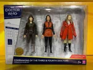 Doctor Who - Companions of the Third & Fourth Doctors Collector Figure Set