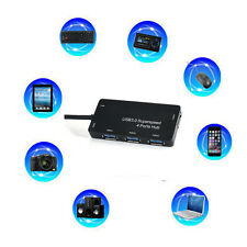 High Speed 4 Port USB 3.0 Hub  5Gbps Compact for PC Laptop Notebook Desktop