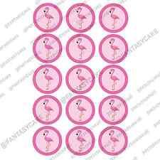 Muffinaufleger Cupcake essbar Oblate Tortenaufleger Party Pink Flamingo Jga Girl
