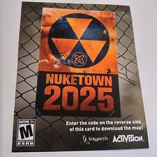 (DLC ADD-ON ONLY) Call of Duty: Black Ops II NUKETOWN 2025 (PS3) #2094