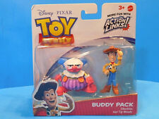 Disney Toy Story Buddy Pack Hat Tip Woody & Chuckles Action Links New!