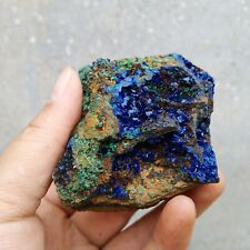 190g BEST NATURAL Azurite/Malachite Quartz crystal minerals specimens M773
