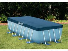 Intex 28037 Copertura per Piscina Rettangolare - 4 x 2m, Blu