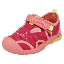 Chaussures roses avec attache auto-agrippant pour fille de 2 à 16 ans pointure 24