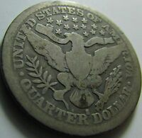 1914-S VG- Barber Quarter in a SAFLIP®