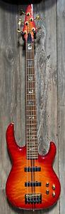 Carvin Custom Shop LB75 5-String Bass Used