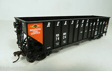 Bowser (Set-2) R&N (orange panel) 100-Ton Hopper Cars (3 car set) NIB R-T-R