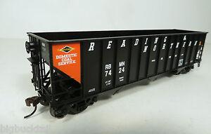 Bowser  R&N (orange panel) 100-Ton Hopper Cars  NIB R-T-R *FREE SHIPPING*