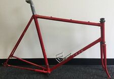 TREK FRAME AND FORK TRUE TEMPER TUBING 59 CM POST BRACKET HEADSET