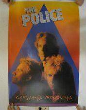 The Police Poster Zenyatta Mondatta