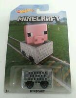 HOT WHEELS - New & Sealed Minecraft Minecart Hot Wheels Long Card Mattel 2016