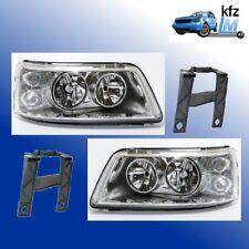 VW T5 Scheinwerfer Set links rechts H7 H1 + LWR Motor + Halter Hauptscheinwerfer