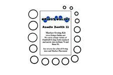 Azodin Zenith II Paintball Marker O-ring Oring Kit x 2 rebuilds / kits